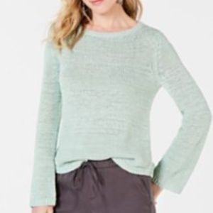 Style & Co Mint Green Chunky Knit Sweater NWOT